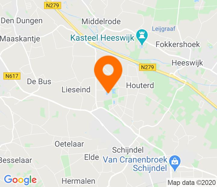 Google Map of 51.639481,5.422445