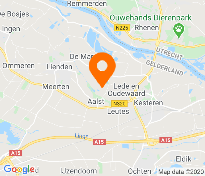 Google Map of 51.939539,5.544334