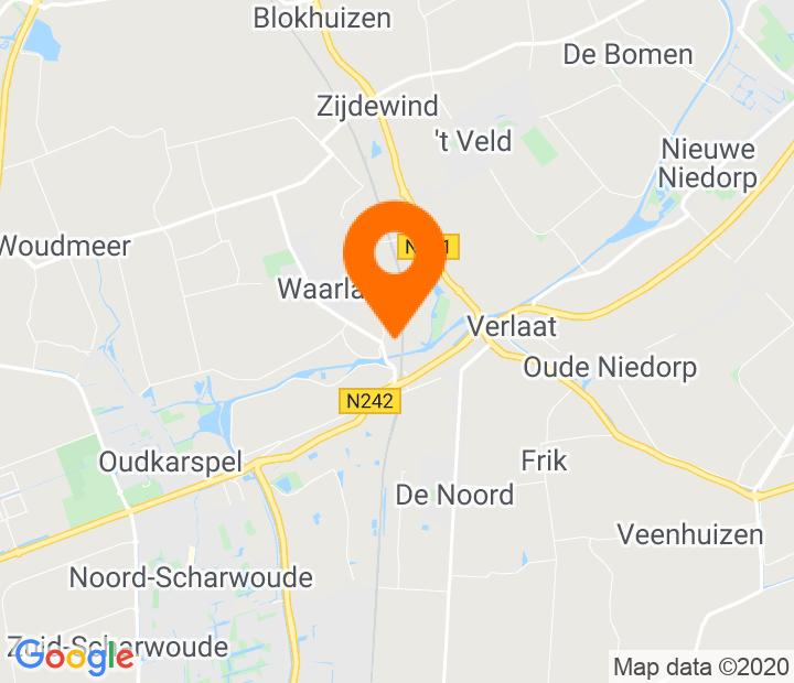 Google Map of 52.720993,4.842762