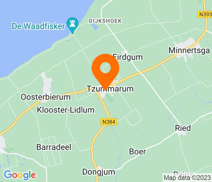 Google Map of 53.2366633,5.5472908