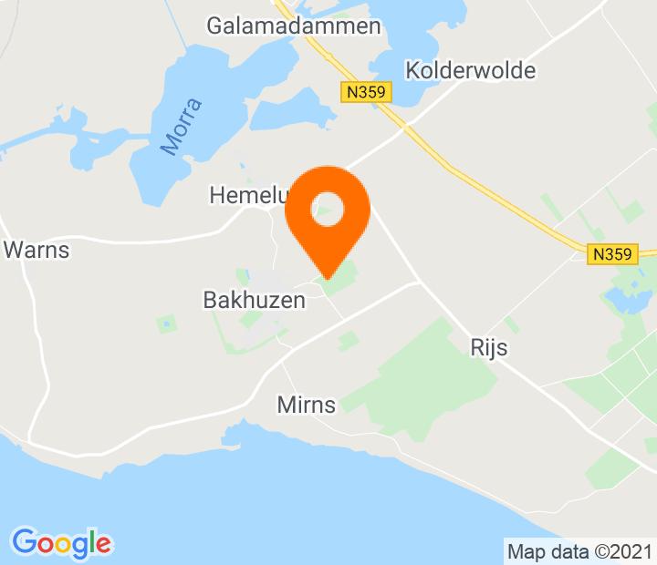 Google Map of 52.870644,5.46917