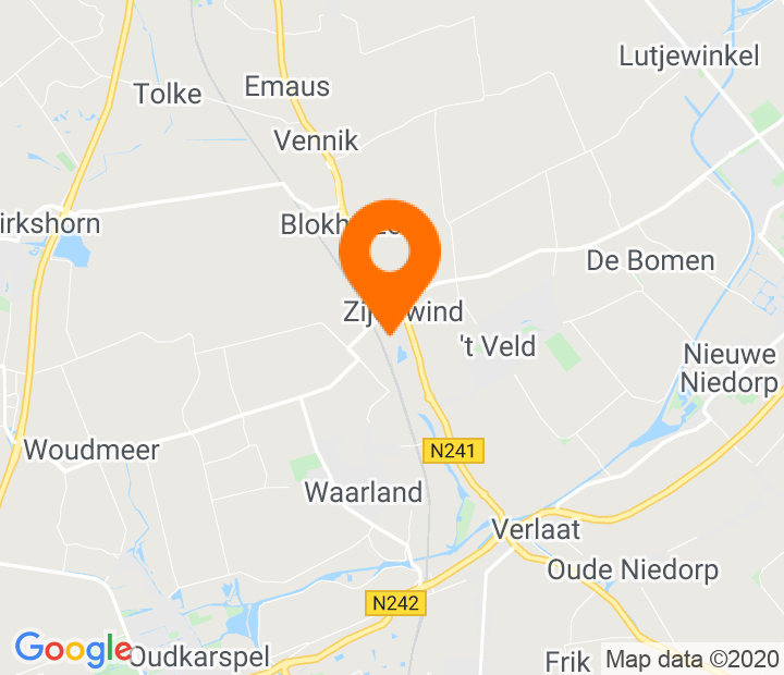 Google Map of 52.740623,4.837945