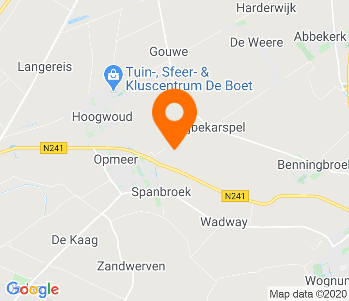 Google Map of 52.707172,4.96352