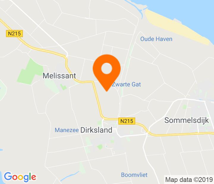 Google Map of 51.764231,4.098179