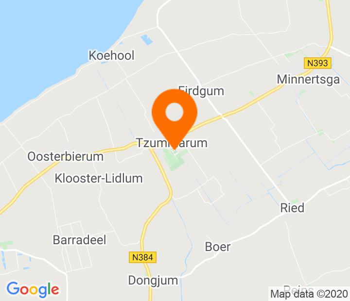 Google Map of 53.23579,5.550924
