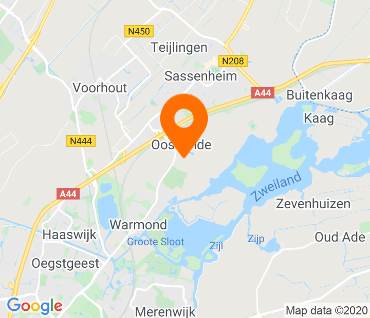Google Map of 52.207649,4.514559