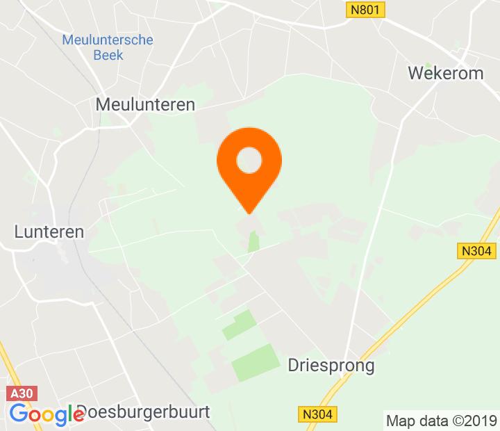 Google Map of 52.090677,5.666942