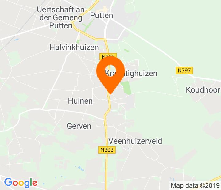 Google Map of 52.231377,5.610329