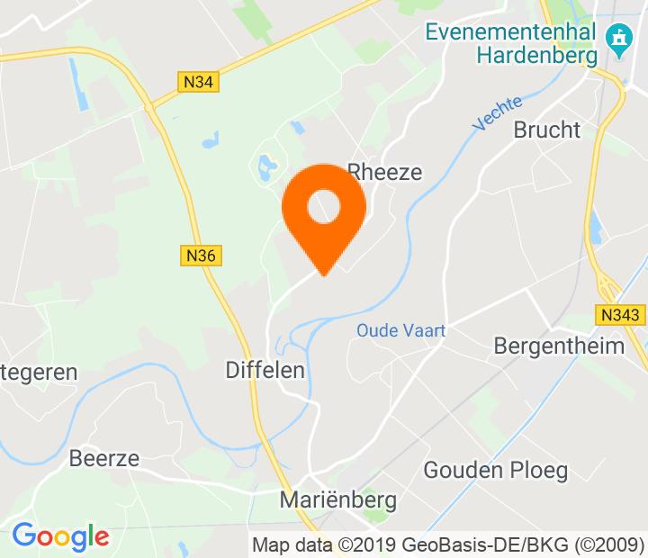 Google Map of 52.534451,6.56997