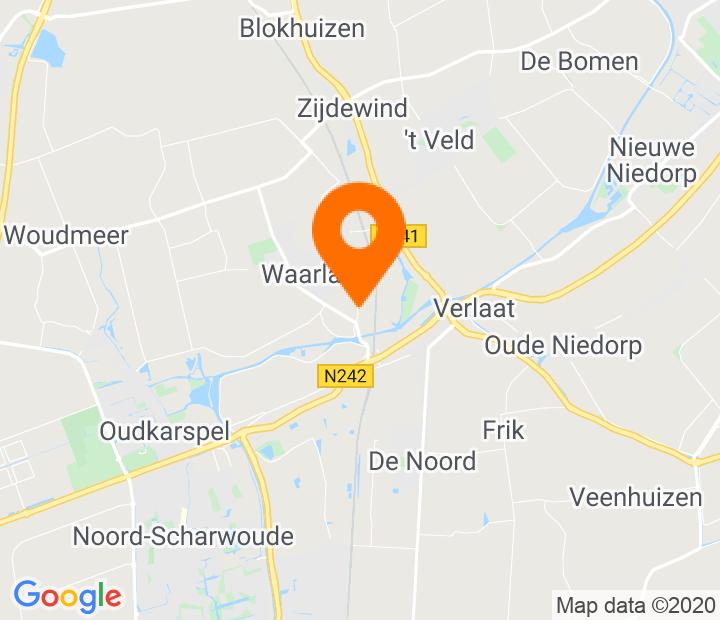 Google Map of 52.722245,4.841171