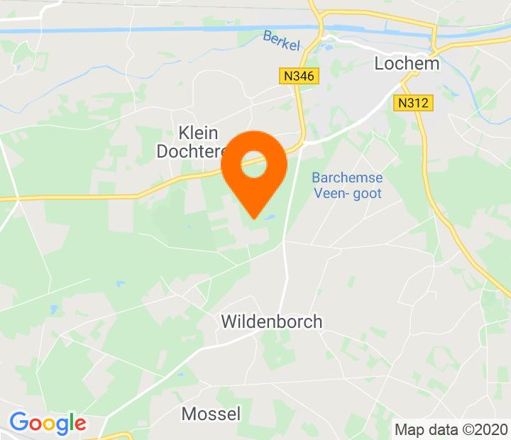 Google Map of 52.138032,6.378804