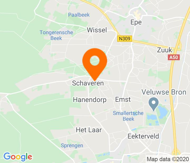 Google Map of 52.321252,5.957015