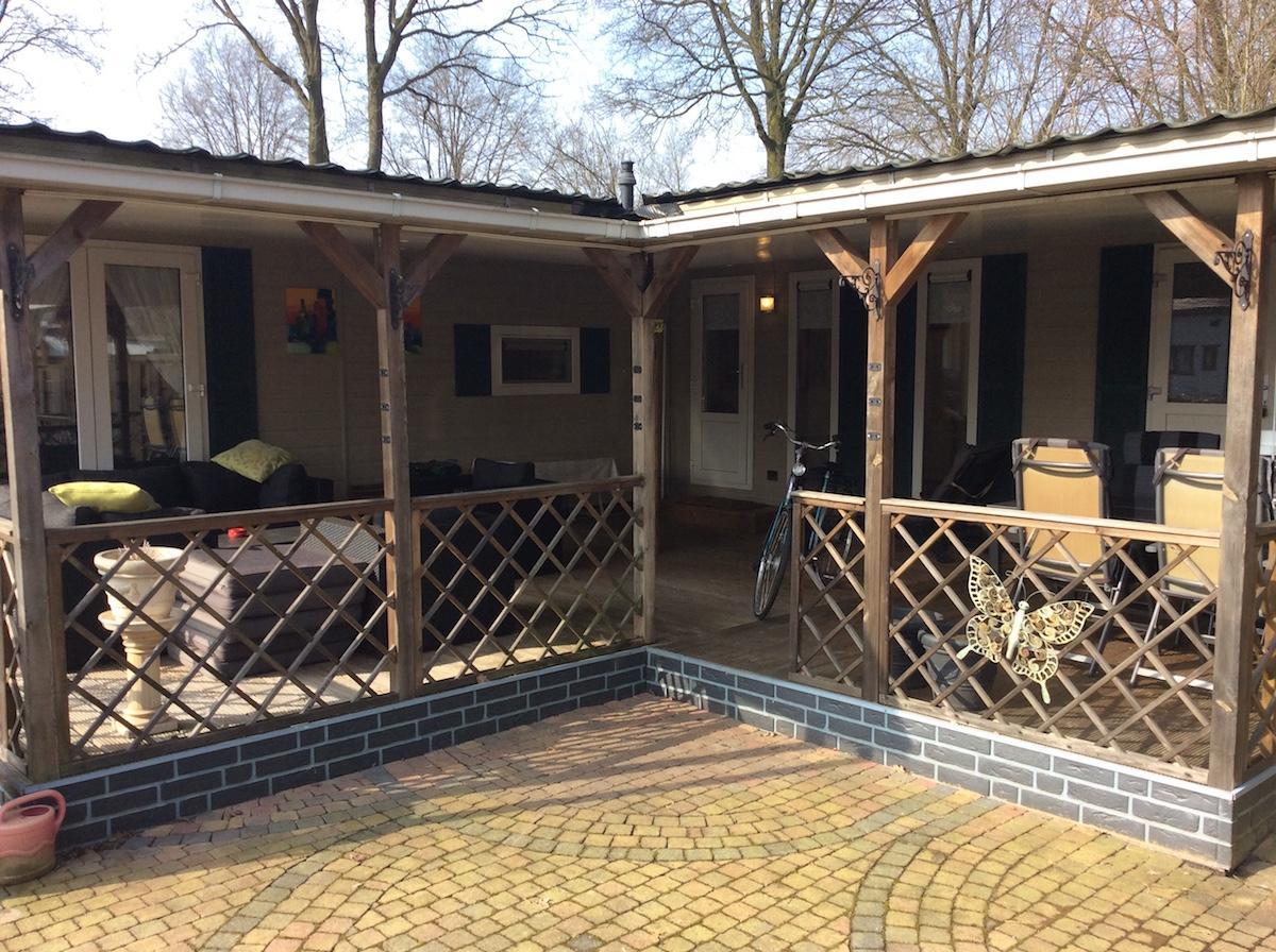 L-chalet met 3 slaapkamers te koop in Hardenberg, Overijssel | de ...